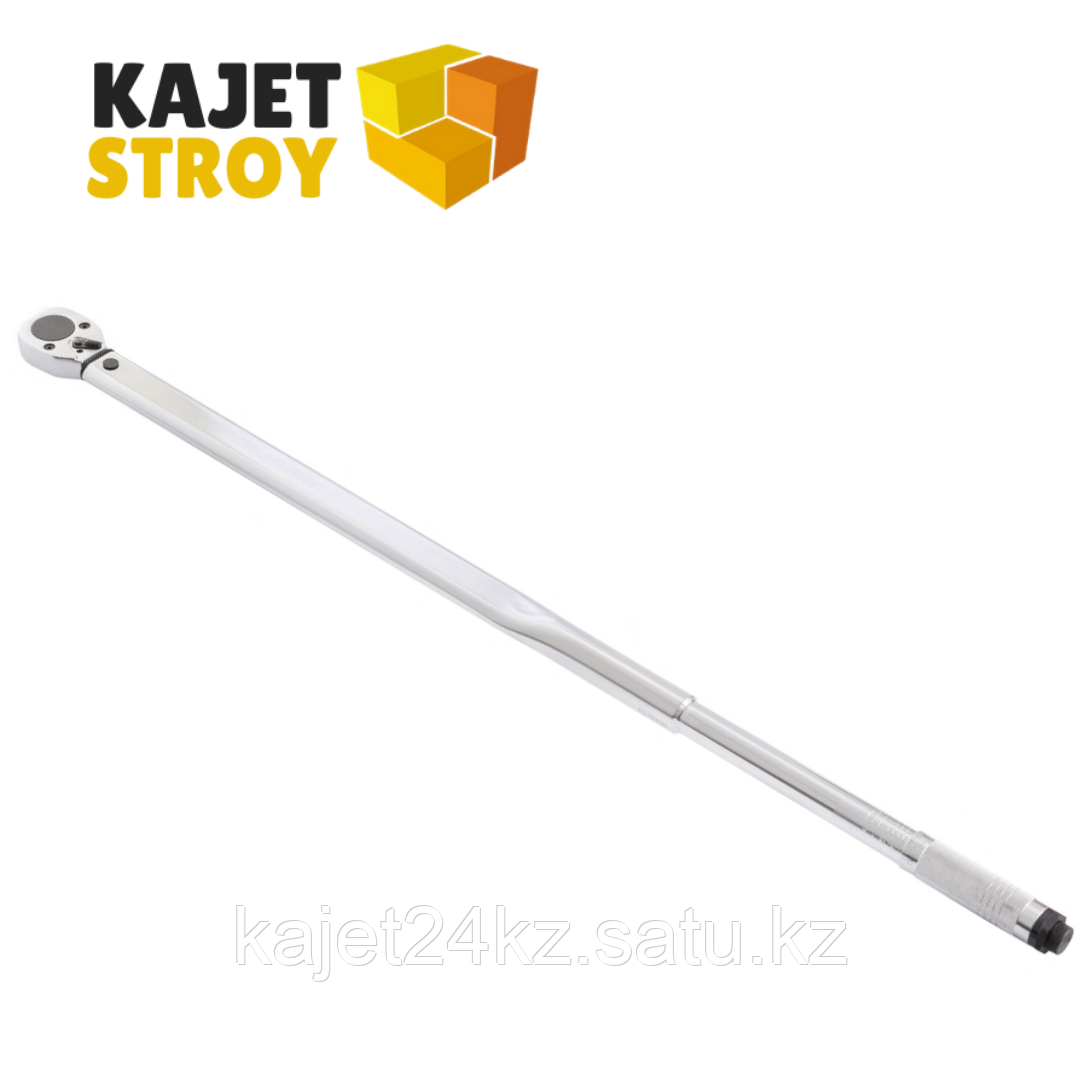 Ключ динамометрический, 140-980 Нм, 3/4, CrV, хромированный Stels