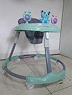 Качественные ходунки на гелевых колесах Мишки, фото 5