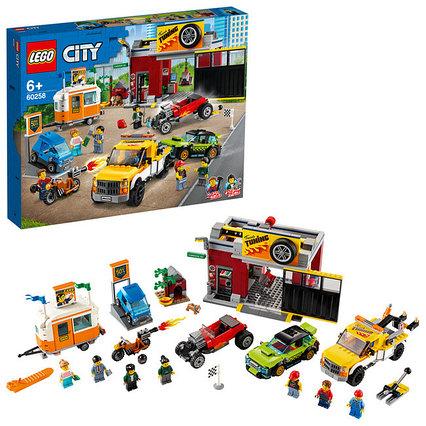 Конструктор LEGO City - Тюнинг Мастерская