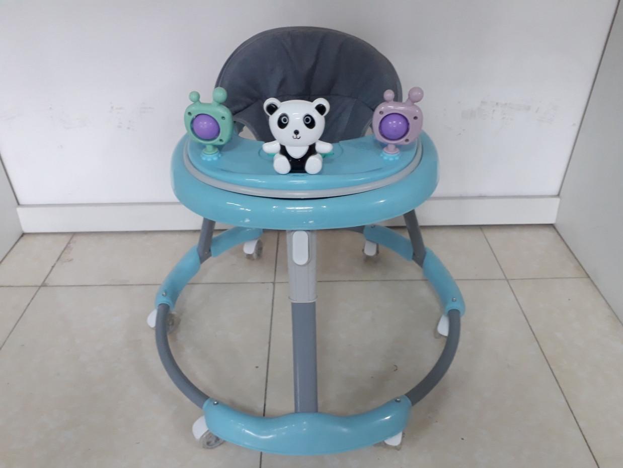 Круглые ходунки на гелевых колесах Мишки
