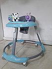 Круглые ходунки на гелевых колесах Мишки, фото 2
