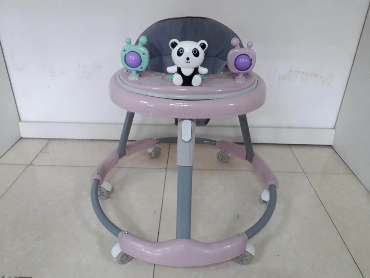 Устойчивые ходунки на гелевых колесах Мишки