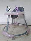 Устойчивые ходунки на гелевых колесах Мишки, фото 5