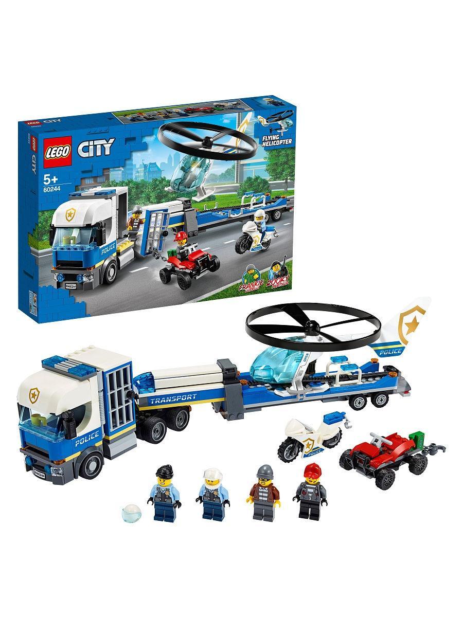 LEGO City Полицейский вертолетный транспорт