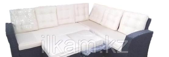 Комплект мебели из ротанга. Два дивана, два пуфика., фото 2