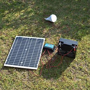 Солнечная электростанция 0.75 кВт/сутки(12В)