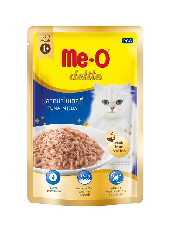 Влажный корм для кошек Ме-О Тунец в желе