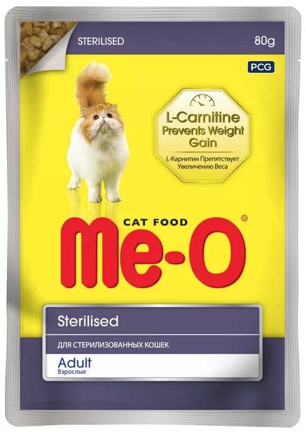 Ме-О Влажный корм для стерилизованных кошек
