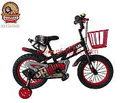 Велосипед Phillips красный алюминиевый сплав оригинал детский с холостым ходом 14 размер