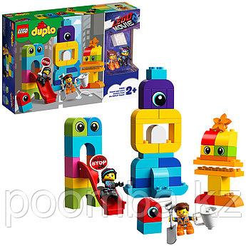Конструктор LEGO DUPLO  - ЛЕГО ДУПЛО Лего Фильм 2: Пришельцы с планеты DUPLO