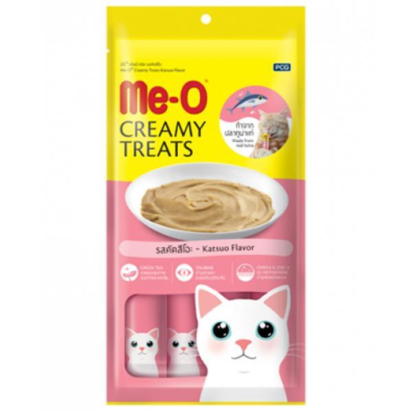 Me-О Кремовое лакомство для кошек Тунец Катсуо