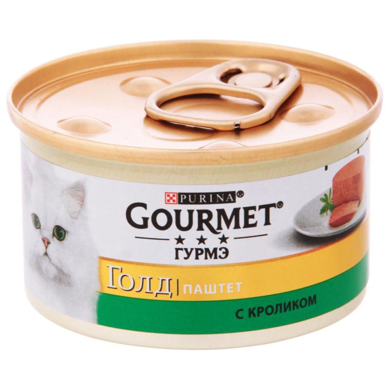 Gourmet Gold Паштет с кроликом для кошек