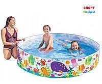 """Детский бассейн Intex 56452 """"морские жители"""" (Габариты:183 х 38 см)"""