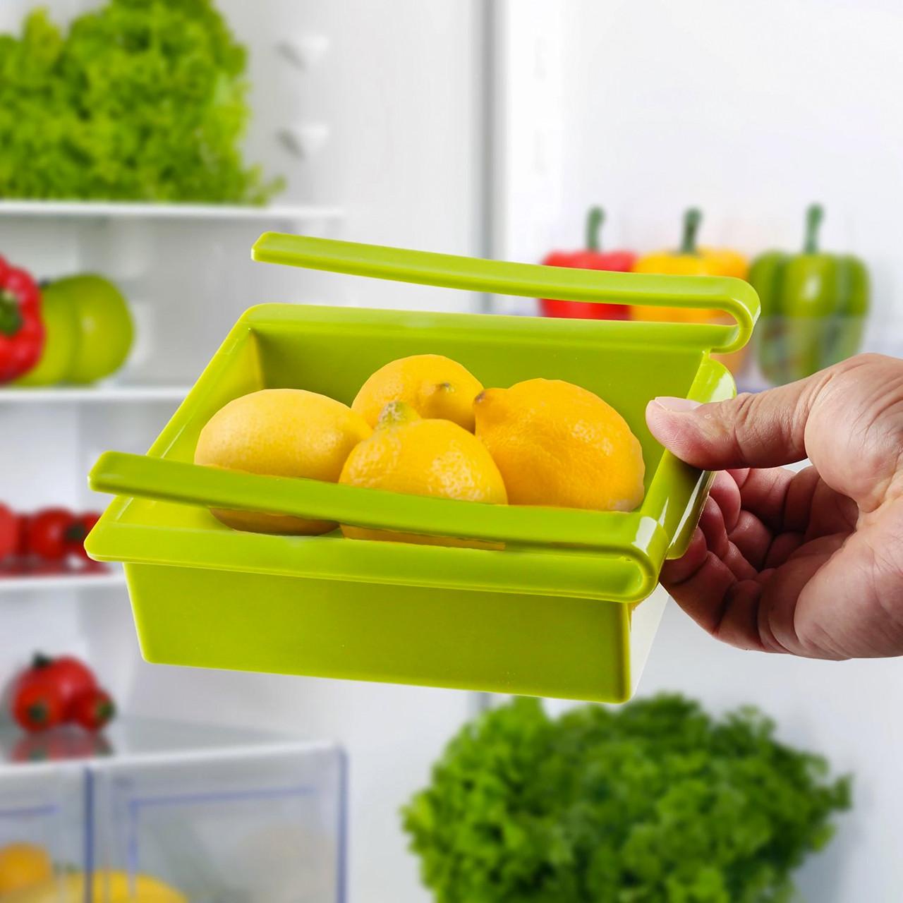 Подвесной органайзер для холодильника зеленый Теплая осень