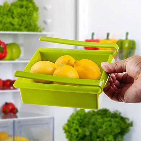 Подвесной органайзер для холодильника зеленый Теплая осень, фото 2