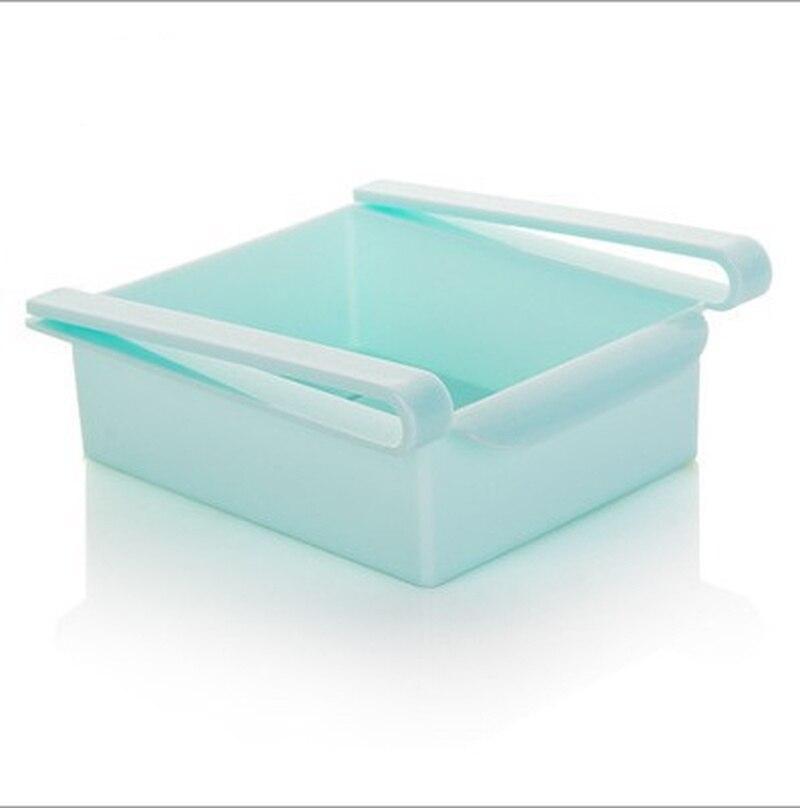 Подвесной органайзер для холодильника голубой