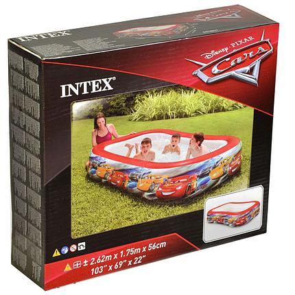 """Надувной бассейн Intex 57478 """"Тачки"""" (габариты: 262 х 175 х 56 см)., фото 2"""