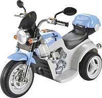 AIM BEST Электро-Мотоцикл MD-1188, 6V/4Ah*1, колеса пластик 90х43х54 см, White-blue / Бело-Голубой