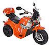 AIM BEST Электро-Мотоцикл MD-1188, 6V/4Ah*1, колеса пластик  90х43х54 см, Orange / Оранжевый