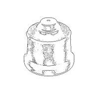 Клапан нагнетательный ТНВД WEIFU F175  F175