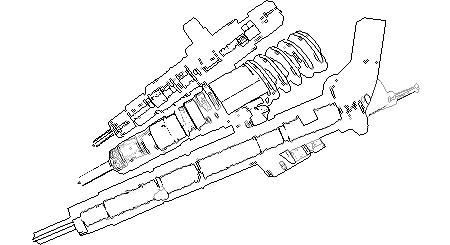 Форсунка топливная CR 0445120292 BOSCH ДВС YC6A260-30