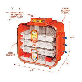 Novital Covatutto 162 Digitale автоматический инкубатор цифровой автомат для яиц