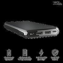 Зарядное устройство Power bank Trust Esla Thin 10000 черный
