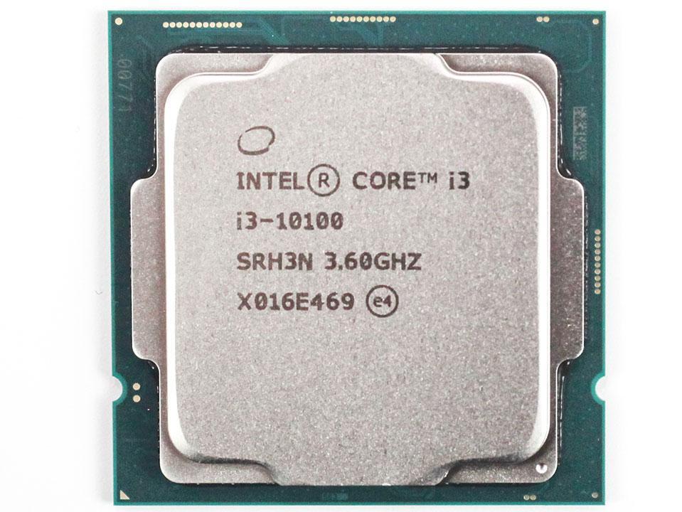 Процессор Intel Core Tray i3-10100