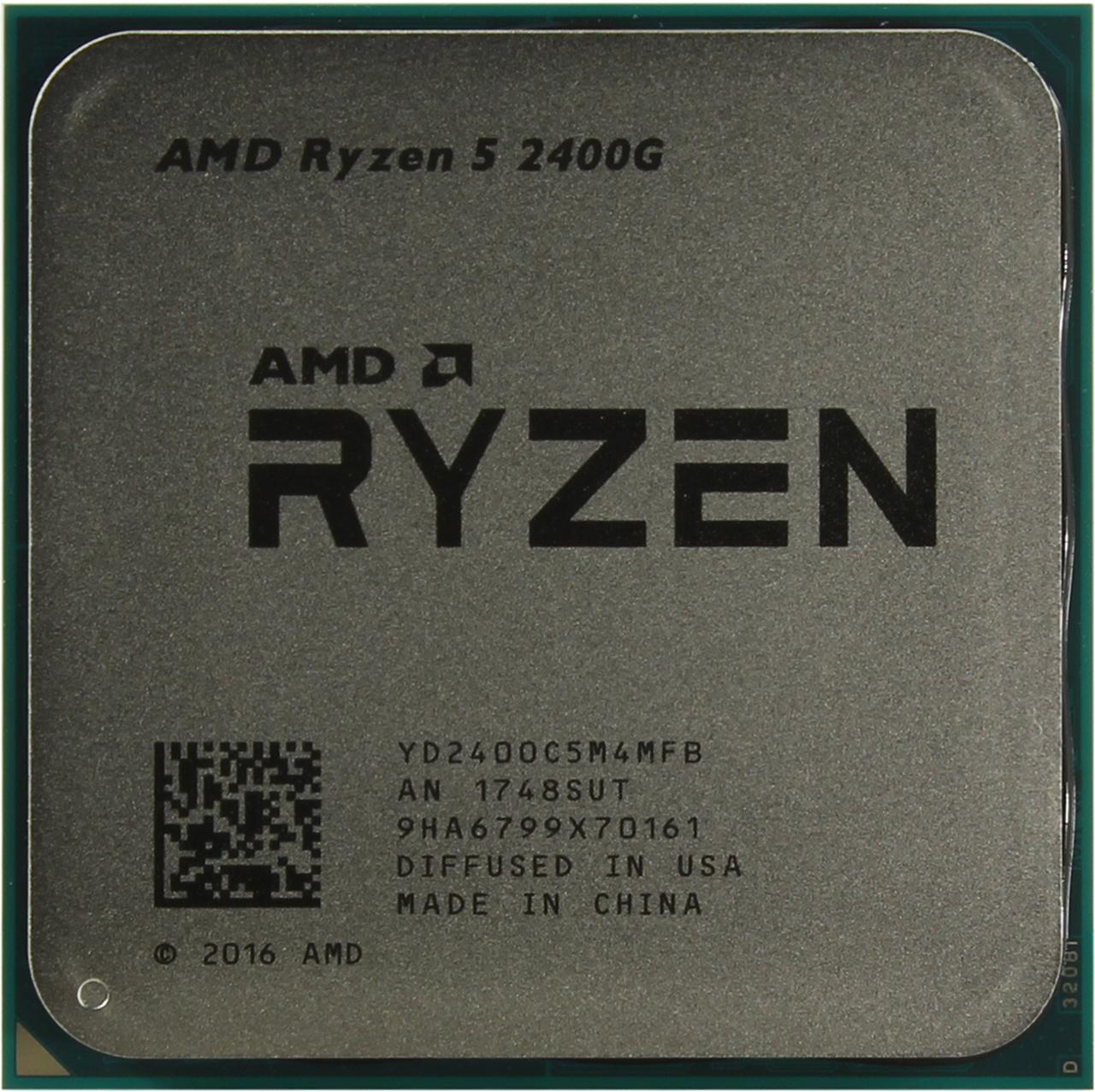 Процессор AMD Ryzen 5 2400G box (YD2400C5FBBOX)