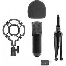 Микрофон студийный настольный конденсаторный RITMIX с USB-адаптером RDM-160, фото 3