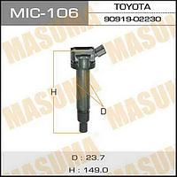 Катушка зажигания Toyota Masuma MIC-106 1UZ-FE, 2UZ-FE, 3UZ-FE, 1G-FE