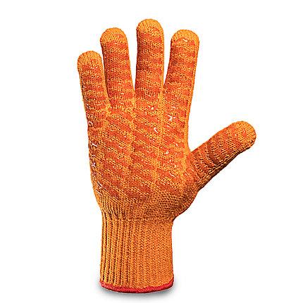 Перчатки трикотажные с двусторонним силиконовым покрытием в Алматы, фото 2