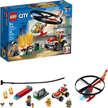 Конструктор LEGO City: Пожарный спасательный вертолет 60248