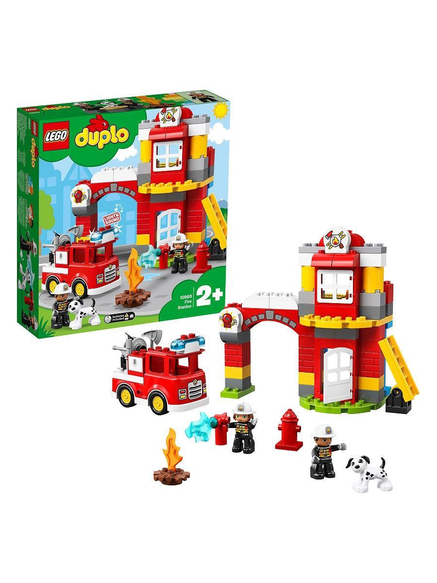 Конструктор  Lego Duplo Пожарное депо