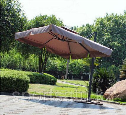 Садовый зонт для кафе,ресторанов и отдыха 3*3м