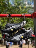 Кроссовки Puma Ferrari черн сер