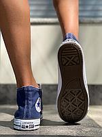Кеды Converse высок джинс, фото 1