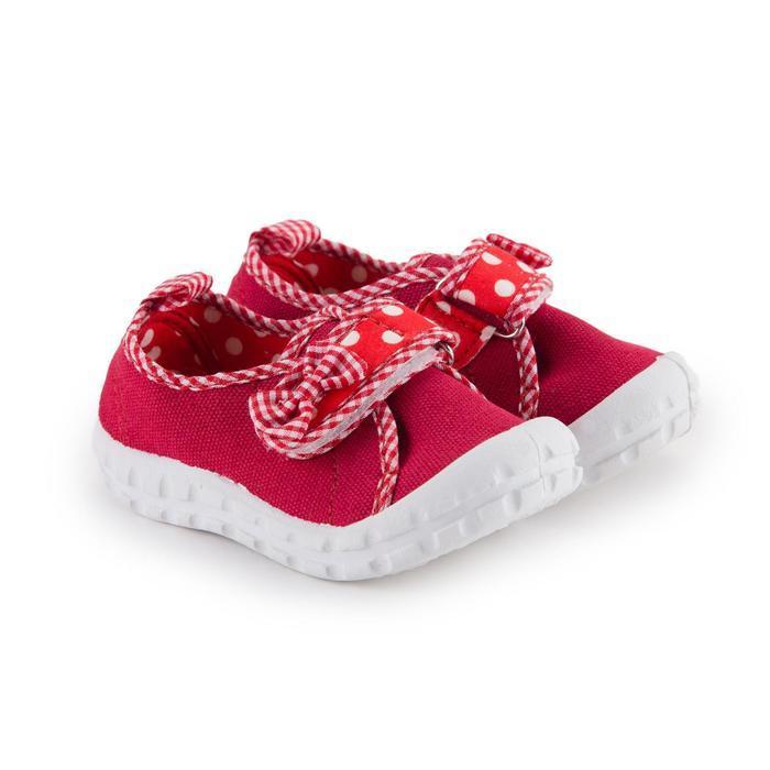 Кеды детские, цвет красный, размер 27