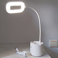 Настольная лампа с подставкой для ручек, DP-6046., фото 1