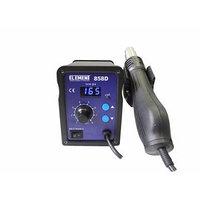 Паяльный фен ELEMENT 858D, цифровая индикация, 650 Вт, 100-480 С, 220 В, 120 л/мин, 74 Ом
