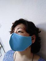 Маска тканевая защитная многоразовая