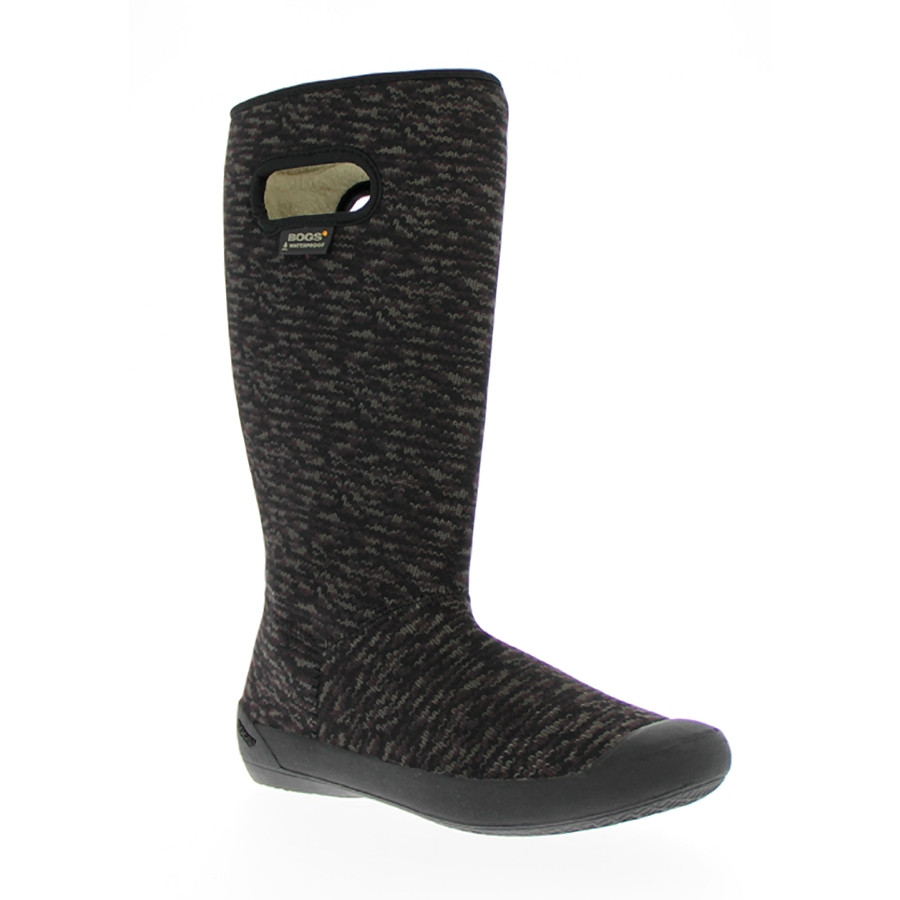 Сапоги BOGS W Summit Knit Black/Grey