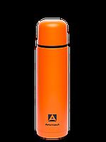 Термос для напитков 1000 мл оранжевый