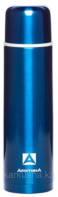 Термос для напитков 1000 мл синий