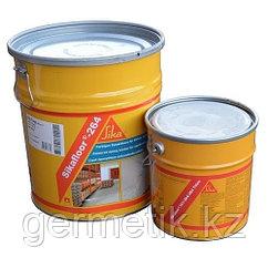 Sikafloor 264 RU (АВ) 30 кг. Двухкомпонентный, цветной, эпоксидный, тонкослойный пол
