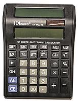 Калькулятор Kenko №8122 (большой, 2 табло)