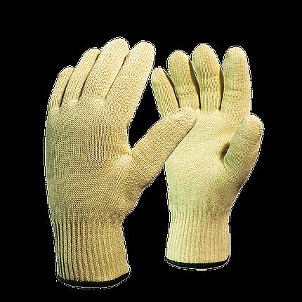 Перчатки от порезов с хлопковой подкладкой, температура до 150С в Алматы, фото 2