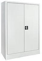 Шкаф для химреактивов, дверцы одностворчатая верхняя металл, нижняя металл, полки металл, замки, ц/м, 600х400х1800