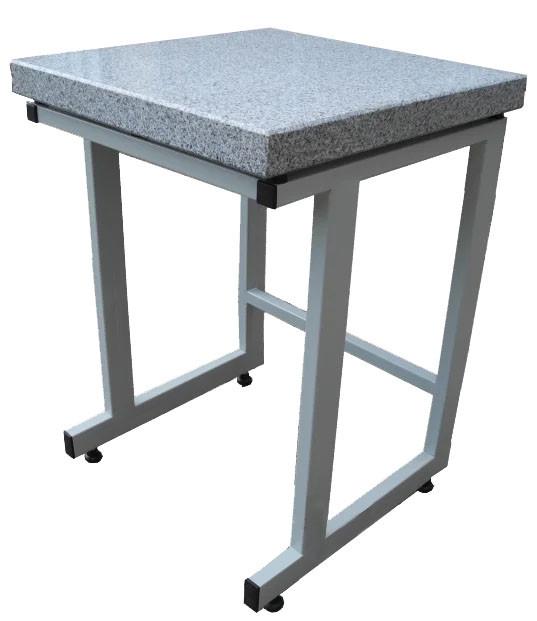 Стол весовой внутренний с гранитной плитой, антивибрационный, ц/м, 500х400х900 мм