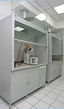 Шкаф вытяжной стальной облегченный без сантехники, 900х650х1900
